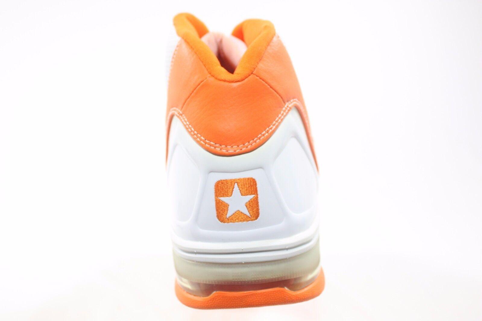 NEW RARE Converse Weapon EVO Mid - Weiß Orange (110921) (110921) (110921) 83ff98
