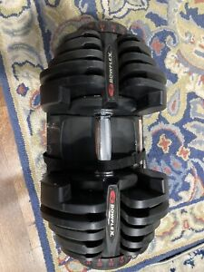 Bowflex SelectTech 1090 Adjustable Workout Exercise Dumbbell Weights SINGLE