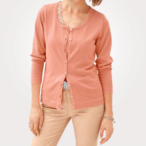NEU!! KP 59,99 € SALE/%/%/% Mona Cardigan in Feinstrick-Qualität Orange