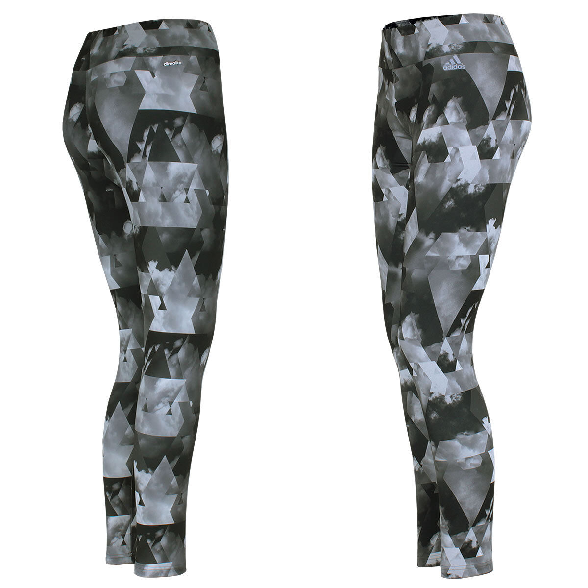 Adidas DaSie Workout Climalite AOP Tight Hose Leggings Sporthose Fitnesshose