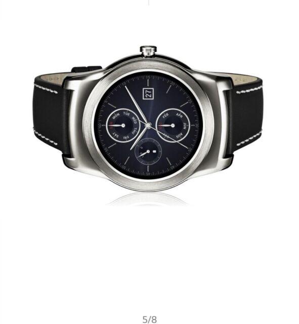 LG Watch Urbane (W150) 46mm Stainless Steel Case Black Classic Buckle - (LGW150)