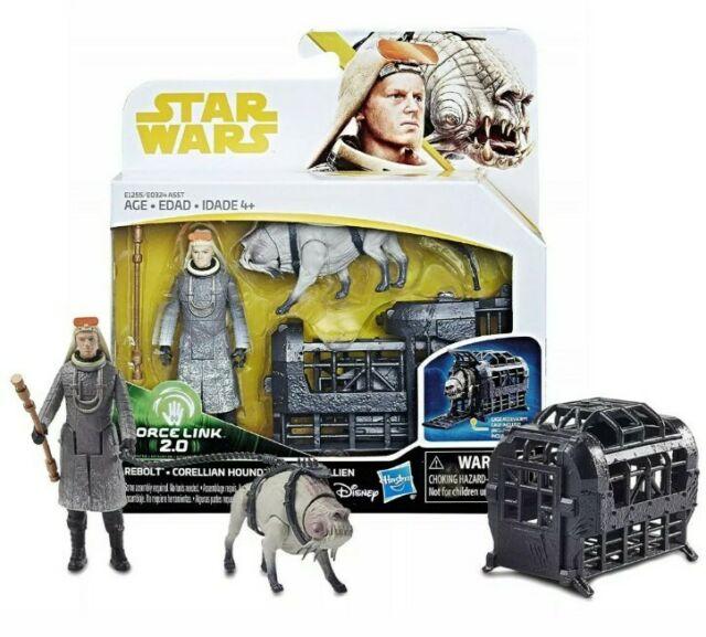 STAR WARS SOLO Film forcelink 2.0 Lot de 2 Han Chewy rebolt Corellian Hound