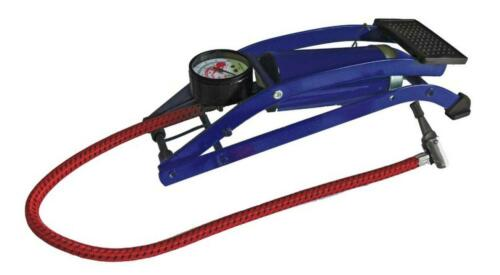 Foot Pump for Car Tyres 100PSI Single Cylinder Barrel Inflate Bicycles Balls