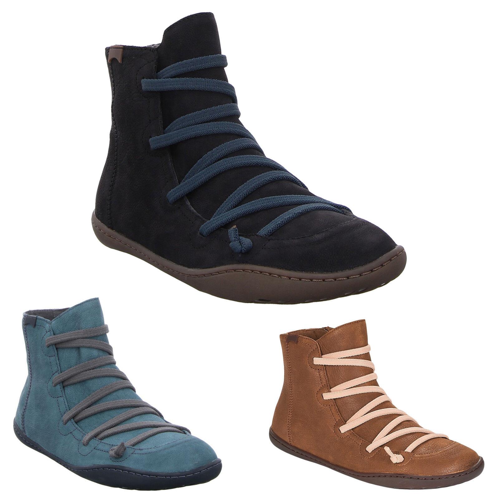 Camper Peu Cami Leder Casual Zip-Up Ankle Damen Stiefel