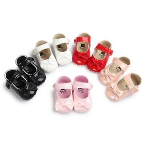 Newborn-Baby-Girls-Shoes-Toddler-Princess-Bowknot-Pram-Soft-Sole-Prewalker-0-18M