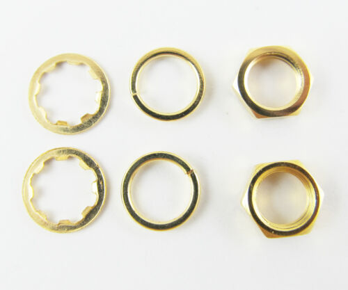 Details about  /100 sets Screw nut Three-piece a set for Standard SMA 1//4-36UNS-2B Gold Plated