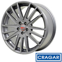Cragar Hawk Harrier Hc3 Aluminum Gray 18x8 5x100 +42 (quantity Of 1)