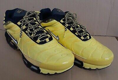 timeless design b5bad 9c4e9 Nike Air Max Plus Frequency Pack Tour Yellow Sz 11.5 AV7940-700 og pimento  90 95 | eBay