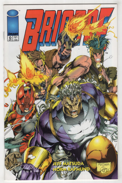Brigade #0 (Sep 1993, Image [Extreme]) 1st App. Warcry {Youngblood, Wildcats}