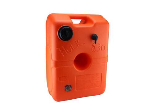 "Kraftstofftank /""HULK/"" 30 L Orange Bootstank"