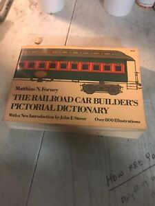 THE-RAILROAD-CAR-BUILDER-039-S-PICTORIAL-DICTIONARY-FORNEY-STOVER-DOVER-1974-BOOK