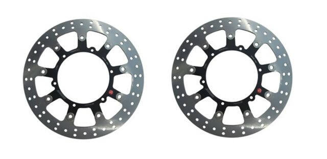 PAR DE DISCOS DELANTE W-FLO KTM LC8 ADVENTURE S 950 04-06 KT03FLD BRAKING
