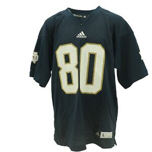 Image is loading Notre-Dame-Fighting-Irish-Official-Adidas-NCAA-Football- a21354073