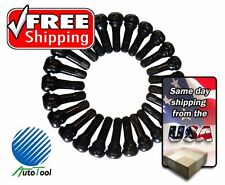 (25) TR 413 Snap-In Tire Valve Stems Short Black Rubber MOST POPULAR VALVE