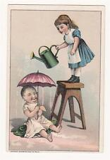 Ant. Trade Card - J. R. Miller - Gent's Fine Furnishings - Watertown, NY - Kids