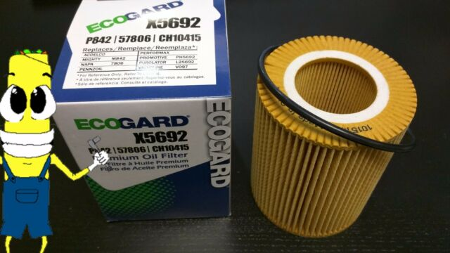 Premium Oil Filter for Volvo XC90 with 3.2L Engine 2007-2014 Single