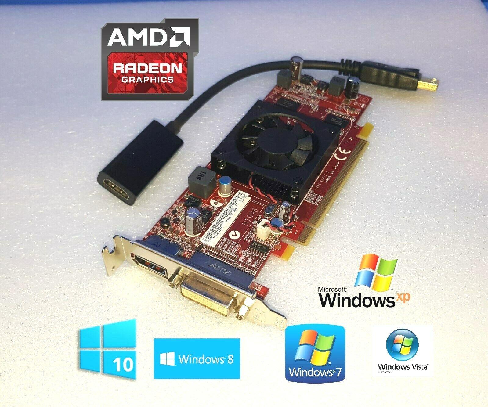 Dell Optiplex 7010 7020 7040 7050 9010 9020 Low-Profile HDMI DVI DP Video Card