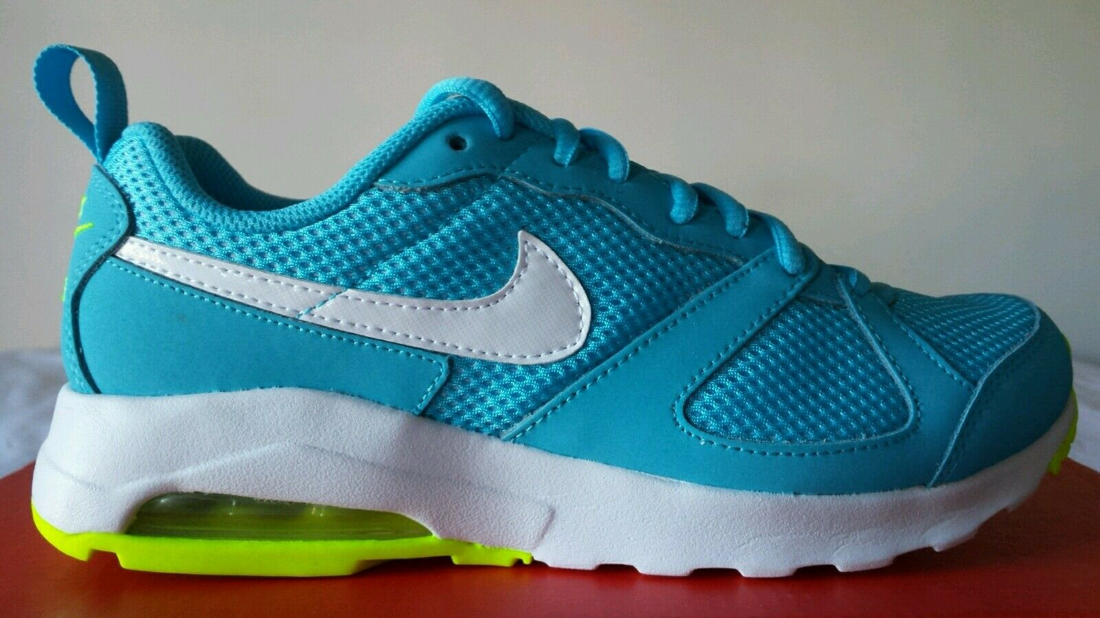 NIKE AIR MAX MUSE WMNS 97 NUM.38,5 TURQUOISE MUSTACHE WHITE ULTIMO SIZE