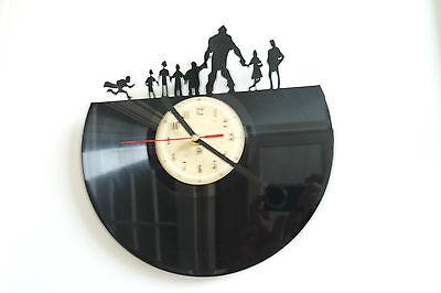 Goonies vinyl record wall clock bedroom playroom home art office shop club move