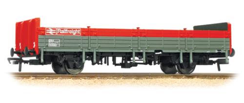 2x Bachmann 38-041C OBA open wagon BR RAILFREIGHT, grigio rosso livery, NEW, BOXED