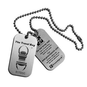Geocaching-Travel-Bug-4-Pack