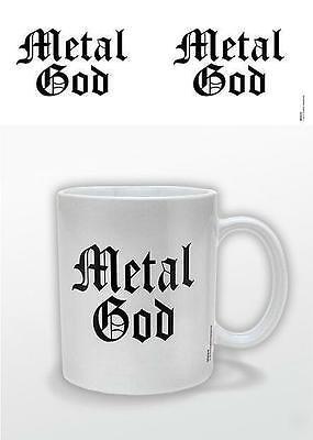 METAL GOD TASSE / KAFFEETASSE - MUG