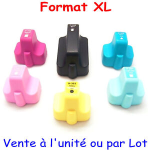 Cartouche-d-039-encre-NON-OEM-HP-serie-363XL-pour-imprimantes-Photosmart-D7400-D7460