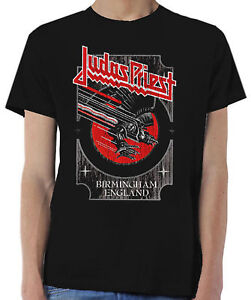 JUDAS-PRIEST-Silver-And-Red-Screaming-For-Vengeance-T-SHIRT-OFFICIAL-MERCHANDISE