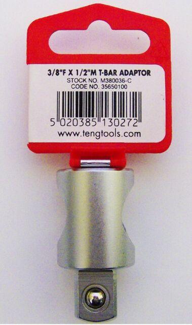 Teng Tools m380036c Adaptateur Prise 3/8 femelle x 1.3cm homme MOTEUR 35650100