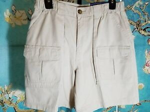 NWT-Croft-amp-Barrow-Mens-Cargo-Shorts-Size-32-Retail-36-00