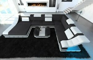 Wohnlandschaft-Polstercouch-Design-TURINO-XXL-Designersofa-Couch-LED-Beleuchtung