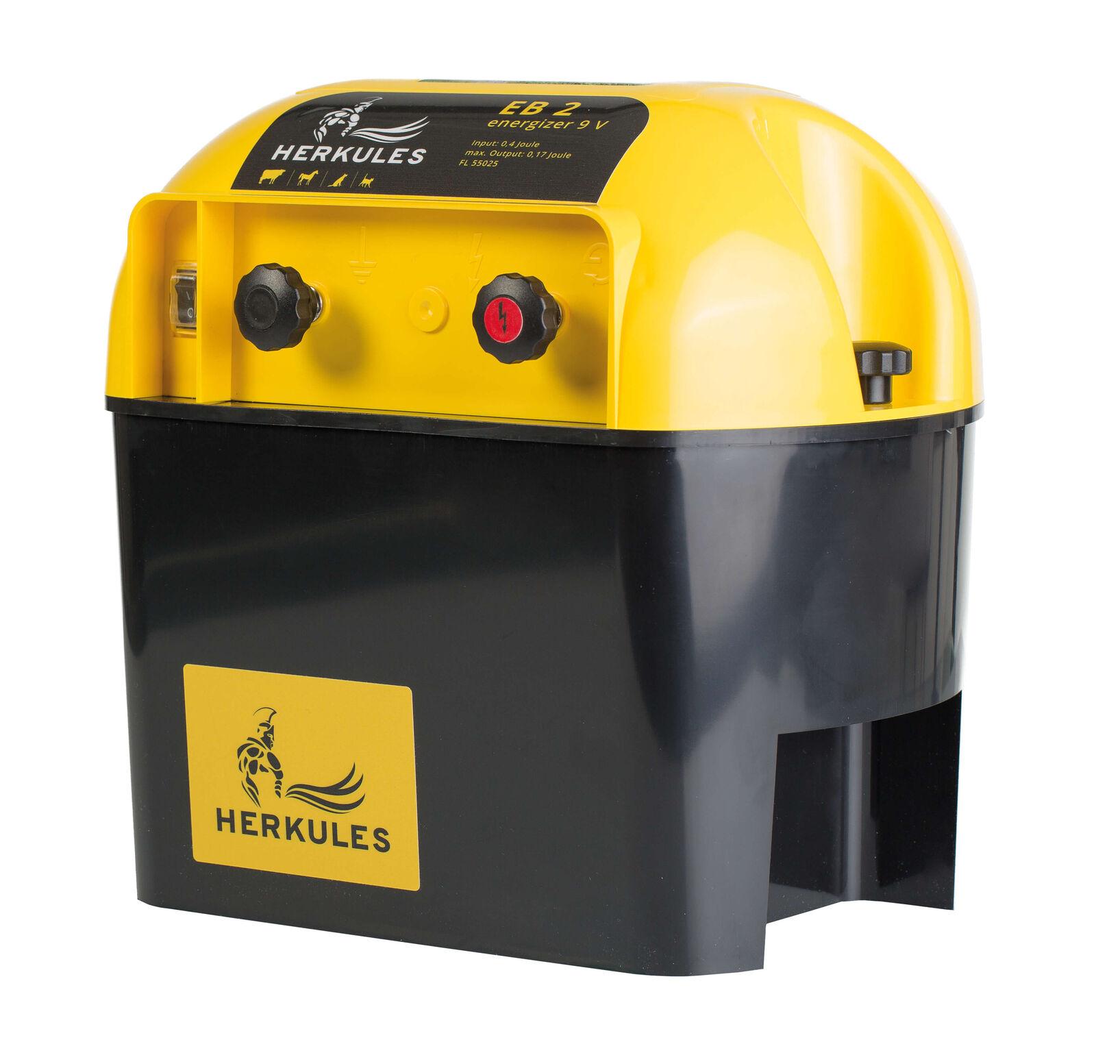 Weidezaungerät Hércules eb2 - 9v-batería dispositivo