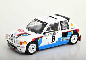 Peugeot 205 T16 #6 T.Salonen/S.Harjanen Monte Carlo 1985 - 1:18 IXO