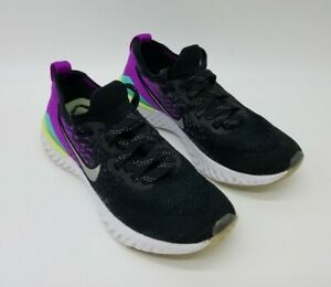 Nike-Epic-React-Flyknit-2-GS-Running-Shoes-AQ3243-008-Size-5Y-Women-039-s-6-5