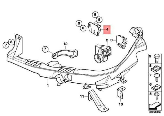 Genuine BMW Bracket 51647136827