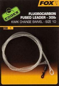Fox Edges Fluorocarbon Fused Leader / Carp Fishing