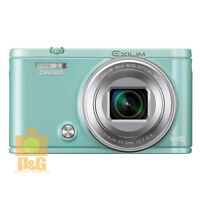 Boxed Casio Exilim Ex-zr5000 Digital Camera Green