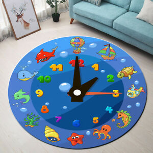 WW Rug round Mat Animal Cartoon Carpet ChildrenS Bedroom ...
