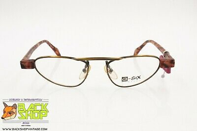 O-six Glasses Mod. 037 Crazy Triangular Aviator Frame, Modern Eyeglasses Men Nos