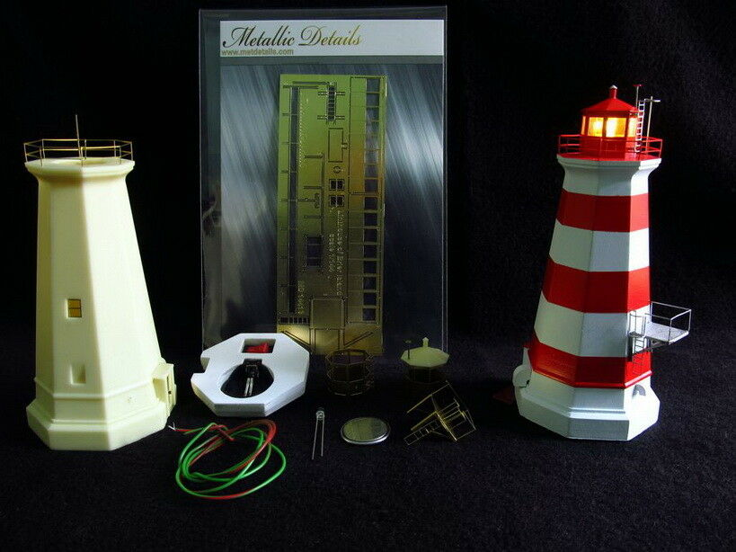 Metallic Details 1 144 Lighthouse of Brier Island w LED