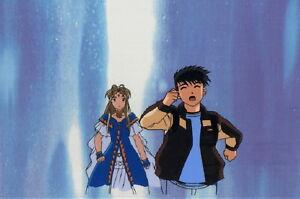 Ah-My-Goddess-Production-Cel-AIC-2000-Movie-187-anime-Keichi-Belldandy