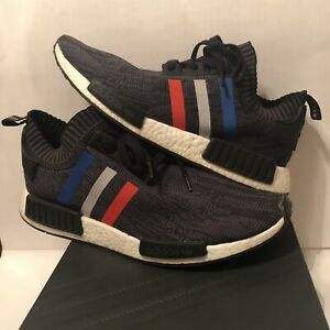ADIDAS NMD R1 Primeknit Tri Color Size 8.5 US yeezy supreme