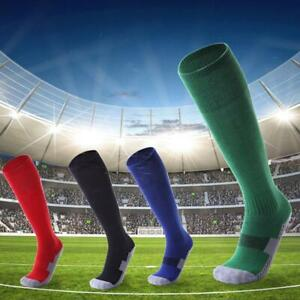 Cotton-Sport-Football-Soccer-Long-Sock-Baseball-Hockey-Over-Knee-High-Socks