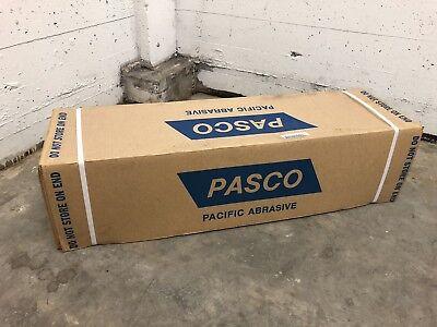 "5 - Pasco 37"" X 60"" 60 Grit Sanding Belts / Wide Belt Sander - 5 Qty New"