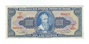 1000-Cruzeiros-Bresil-1963-c056-p-173c-Brazil-billet