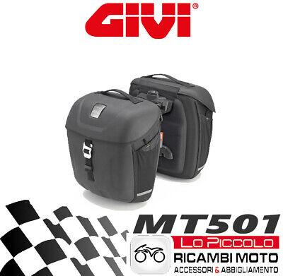 MT501 Pair Givi Metro-T Range Multilock Panniers 18L