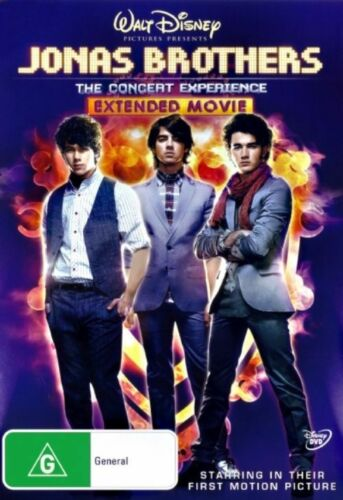 1 of 1 - Jonas Brothers - The Concert Experience (DVD, 2009) // Brand New