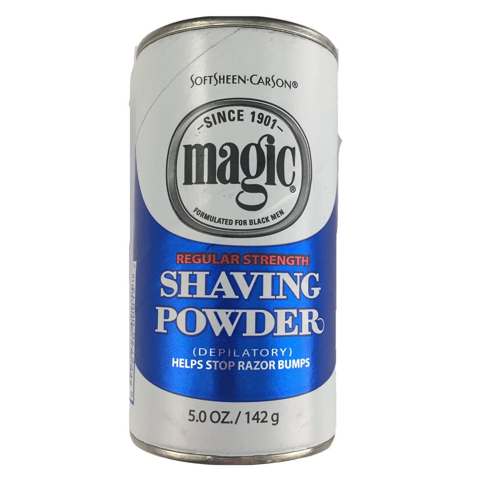 Magic Shaving Powder Regular Strength 5 Oz For Sale Online Ebay