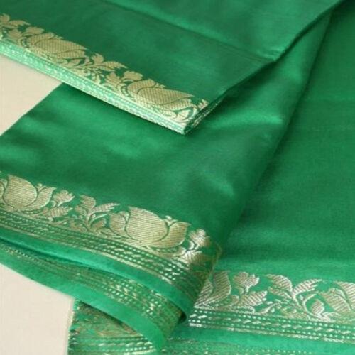 Sari Tissu rêve d/'Inde-Bollywood-Costume India Tissu Coupon Vert 19