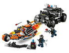 The LEGO Movie 70808 Super Cycle Chase SWAT 3 Mini Figures